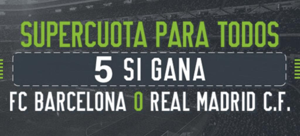 Supercuota Codere El Clásico La Liga : Fc Barcelona - Real Madrid