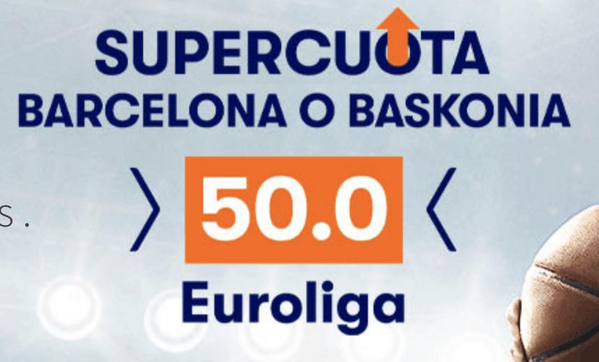 Supercuota betsson Euroliga : Baskonia o Barcelona