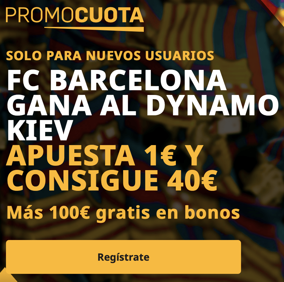 Supercuota betfair Champions League : Dinamo de Kiev - Fc Barcelona