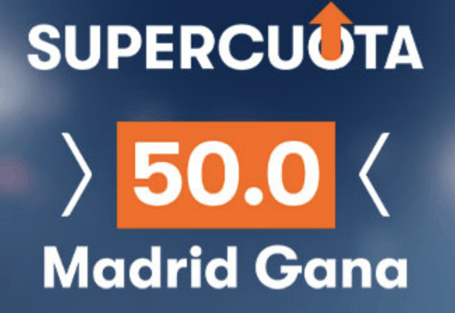 Supercuota betsson Champions League : Inter - Real Madrid