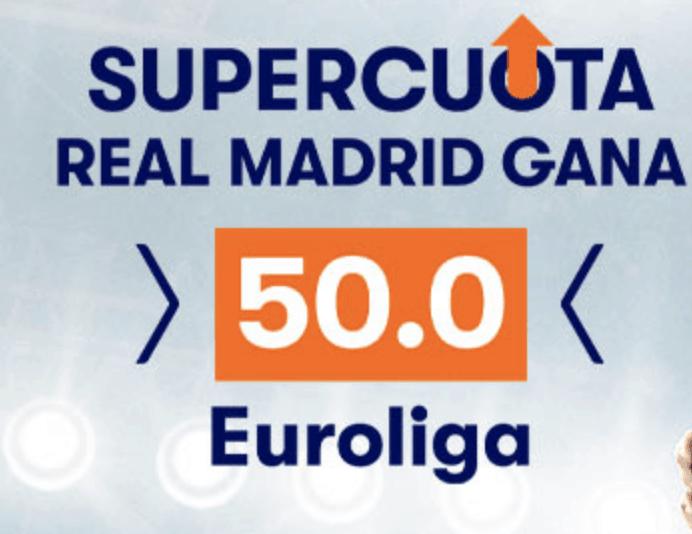 Supercuota betsson Euroliga : Real Madrid gana al CSKA