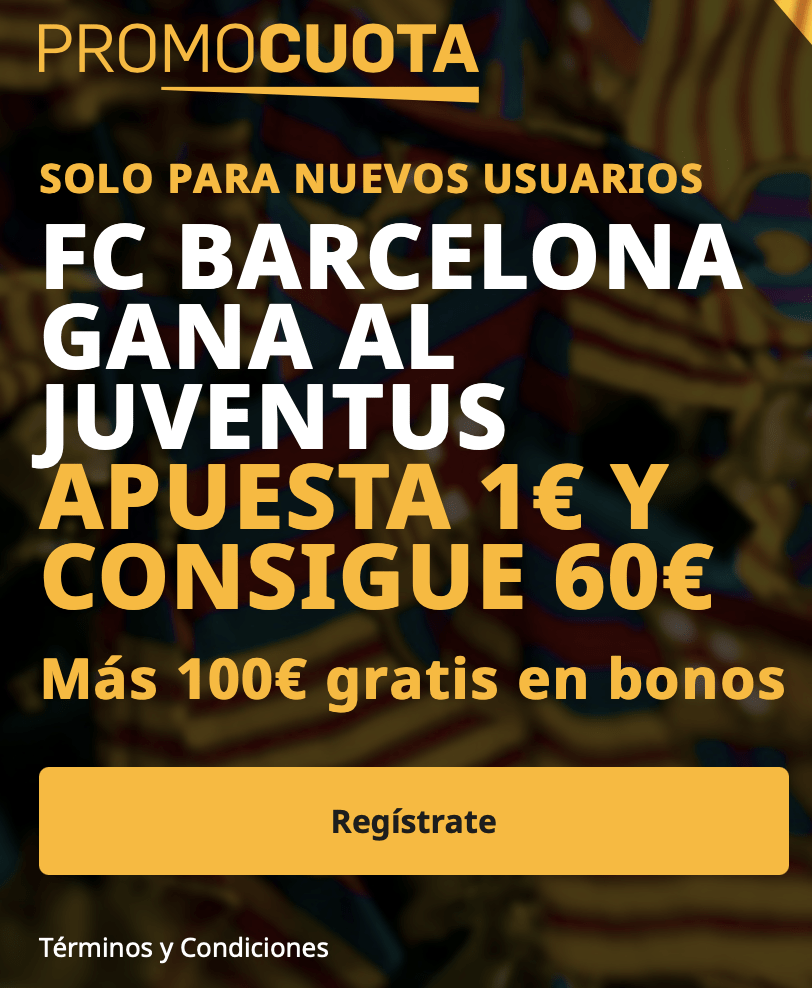 Supercuota betfair Champions League : Juventus - Fc Barcelona