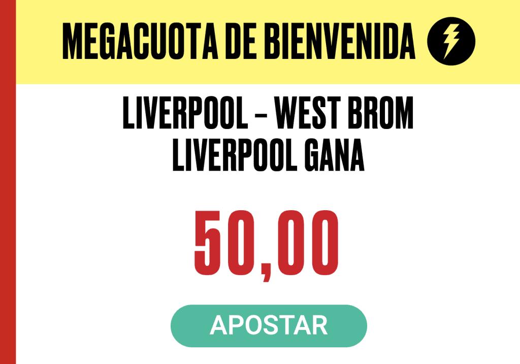 Supercuota PokerStars Sports : Premier League Liverpool - West Brom Albion