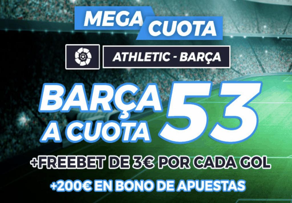Supercuota Pastón Athletic - FC Barcelona