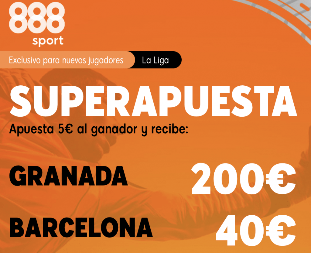 Supercuota 888sport La Liga : Granada - Fc Barcelona