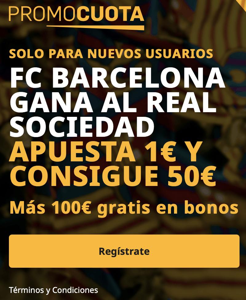 Supercuota betrayer Supercopa : FC Barcelona - Real Sociedad