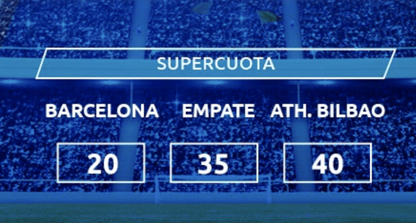 Supercuota Mondobets Supercopa España : Athletic - Fc Barcelona