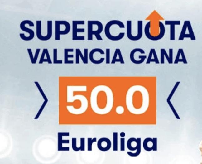 Supercuota betsson Euroliga :  Valencia - Zalgiris Kaunas.