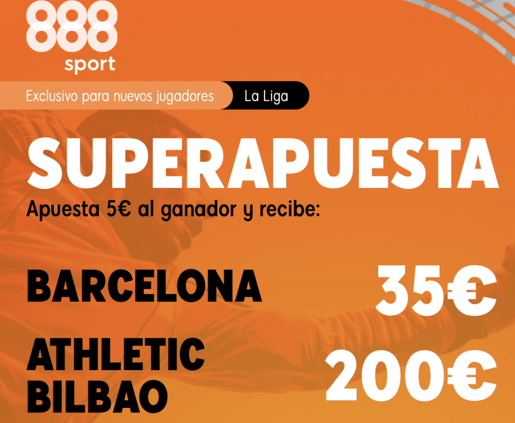 Supercuotas 888sport La Liga : Barcelona - Athletic