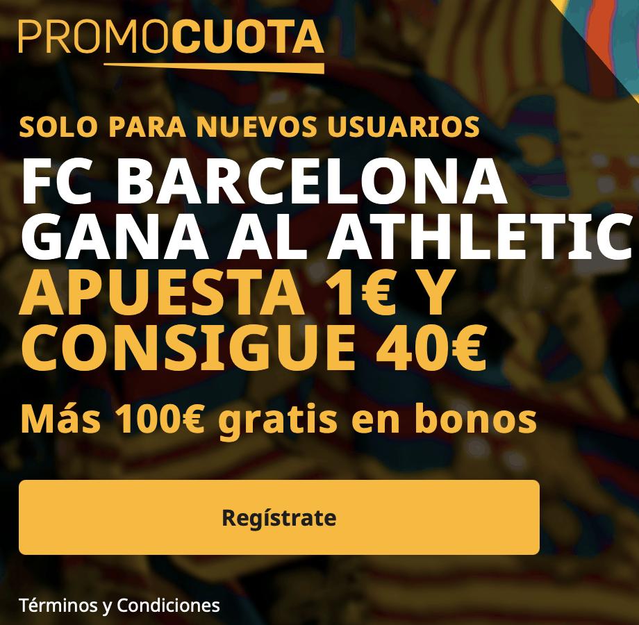 Supercuota betfair La Liga : Fc Barcelona - Athletic