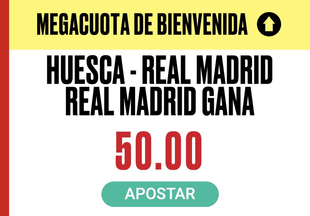 Supercuota Pokerstars Sports La Liga : Huesca - Real Madrid.