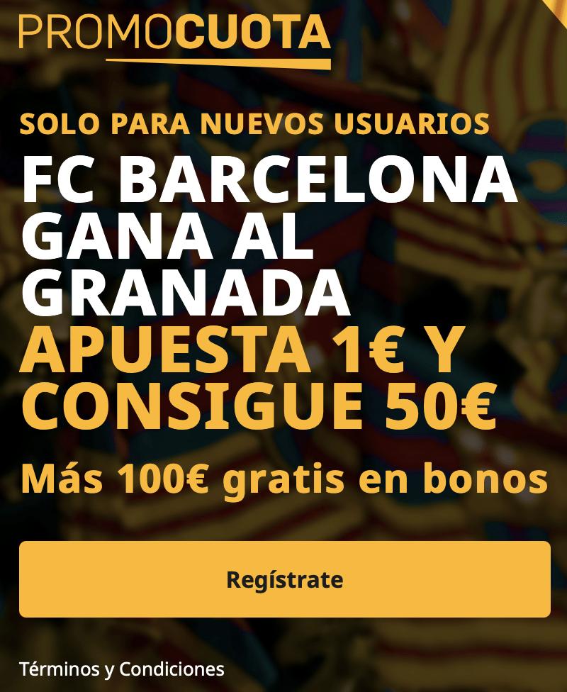Supercuota betfair Copa del Rey: Granada - Fc Barcelona