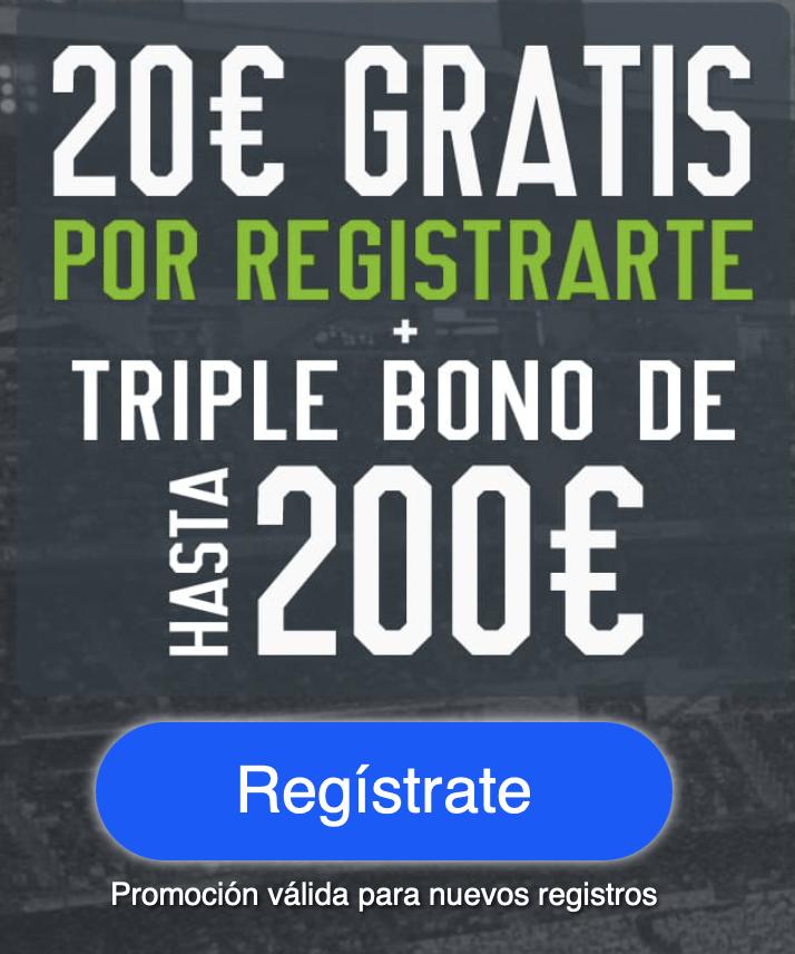 20 euros gratis Codere
