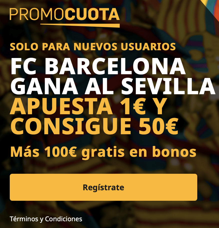 Supercuota betfair Copa del Rey : Fc Barcelona - Sevilla FC