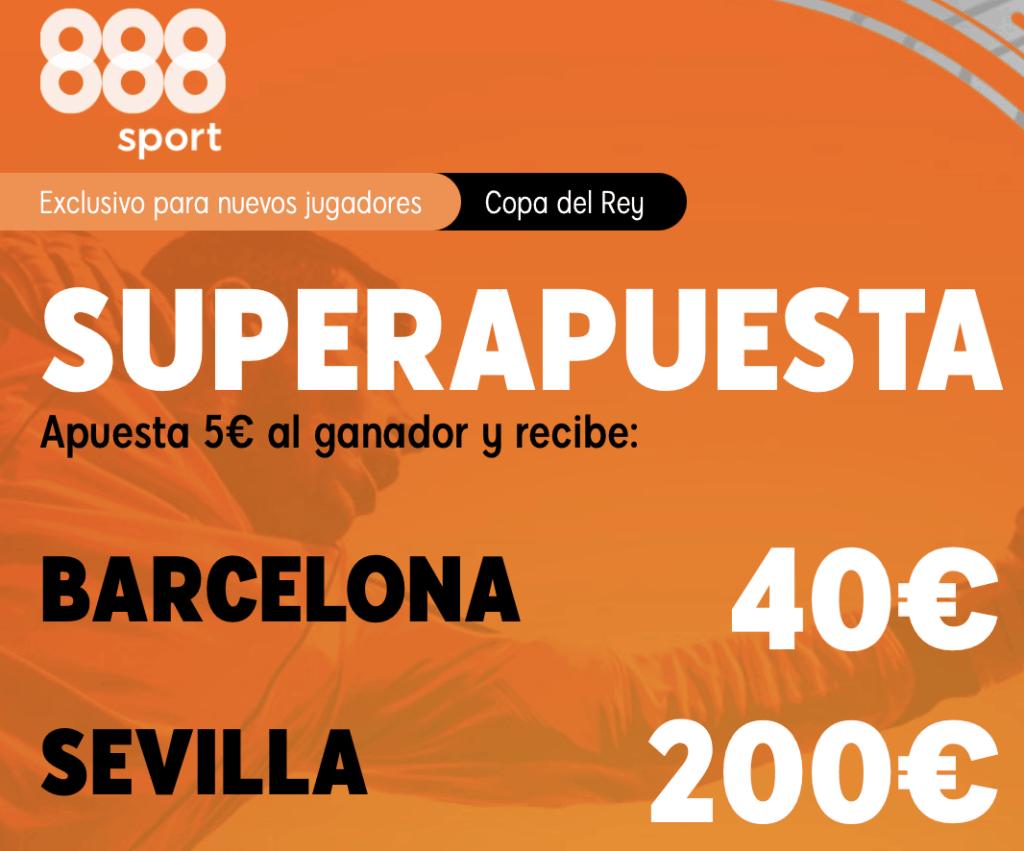 Supercuota 888sport Copa Fc Barcelona - Sevilla FC