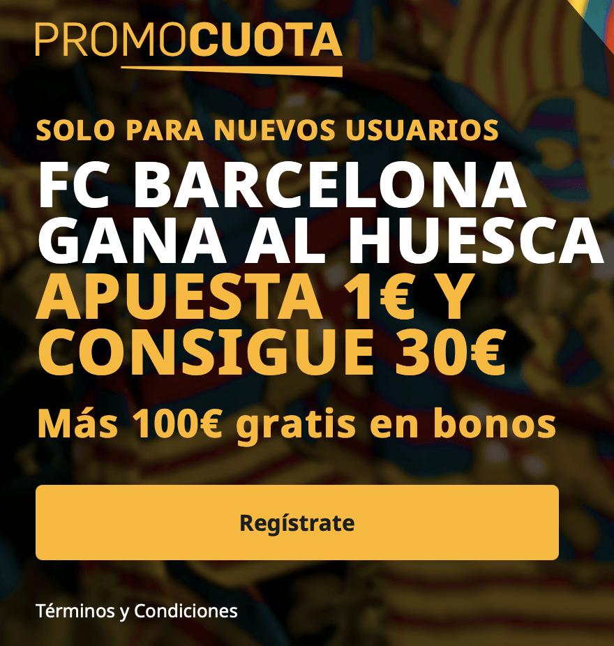 Supercuota betfair La Liga Fc Barcelona - SD Huesca