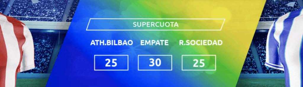 Supercuota Mondobets Copa del Rey Athletic - Real Sociedad