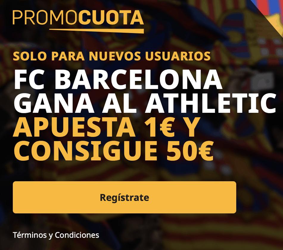 Supercuota betfair Final Copa : Athletic - Fc Barcelona