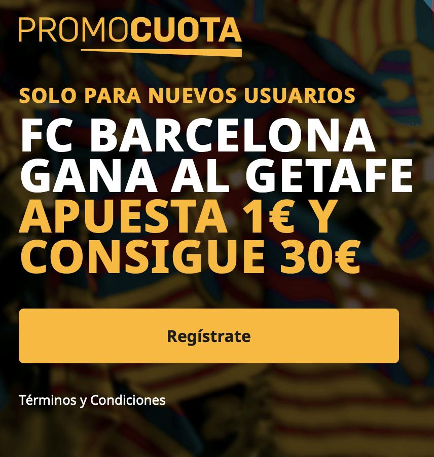 Supercuota betfair Liga : Fc Barcelona - Getafe